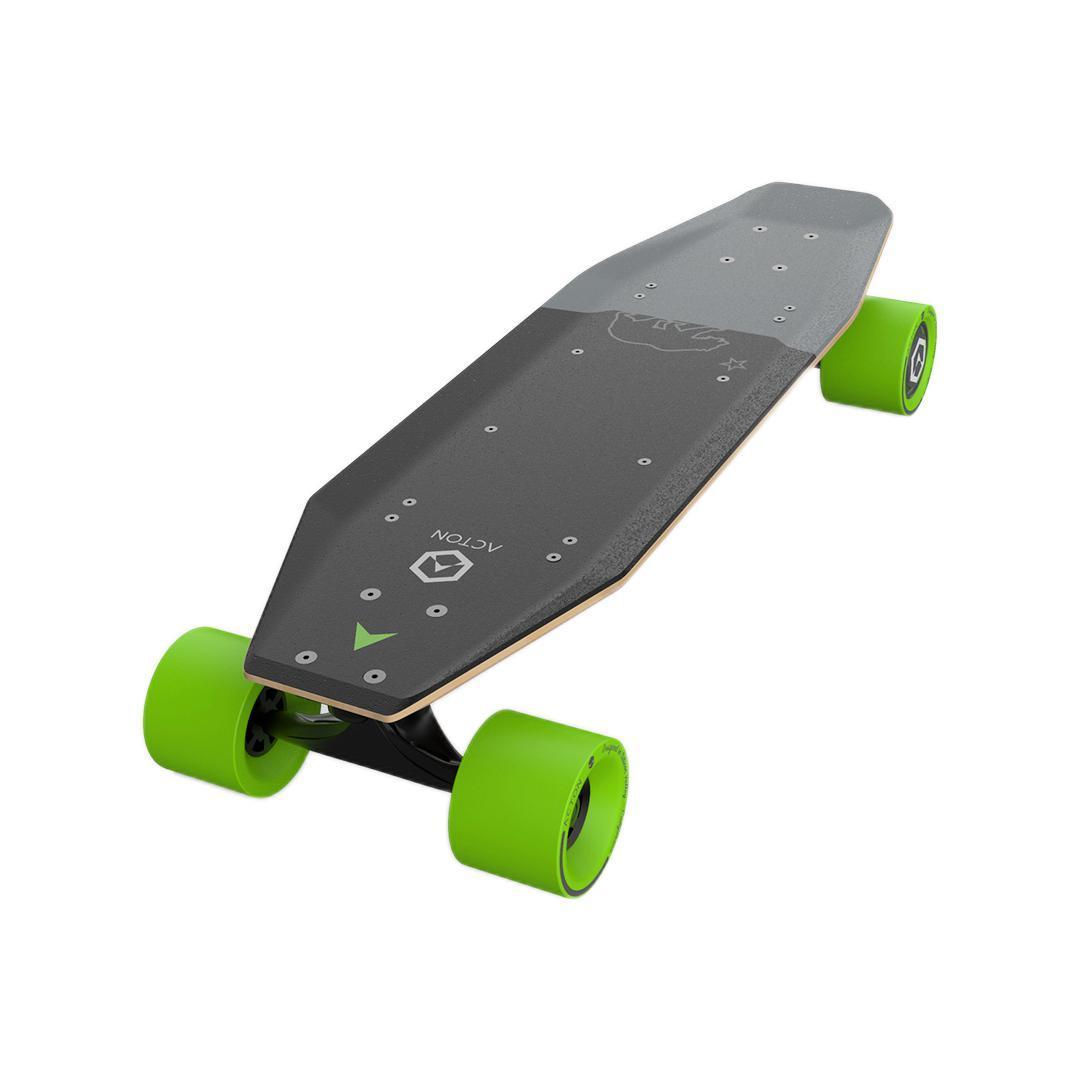 ACTON 智能电动滑板 灰绿 单驱版