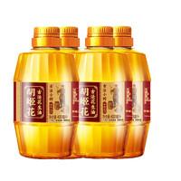 PLUS会员:胡姬花 古法小榨花生油 400ml*4瓶