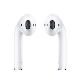 Apple 苹果 AirPods 2 半入耳式真无线蓝牙耳机 无线充电盒 白色