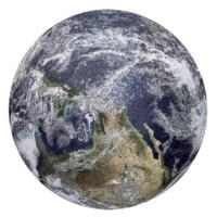 稚气熊 3D卡通定制平面拼图 地球拼图 1000片