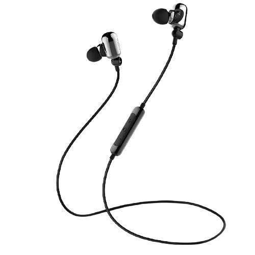 EDIFIER 漫步者 W293BT 入耳式颈挂式降噪蓝牙耳机 亮银