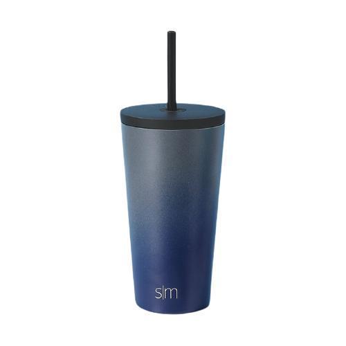 Simple Modern 双盖保温咖啡杯 480ml