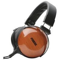 FOSTEX TR-X00 耳罩式头戴式有线耳机 黑棕色  桃花心木