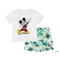 Disney 迪士尼 男女童短袖套装