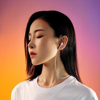 JBL 杰宝 T280BT Plus 入耳式颈挂式降噪蓝牙耳机 粉色