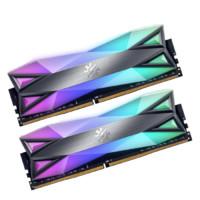 XPG 龙耀系列 D60G DDR4 3600MHz RGB 台式机内存 灰色 16GB 8GB*2