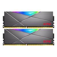 XPG 龙耀系列 D50 DDR4 3600MHz RGB 台式机内存 灰色 16GB 8GB*2