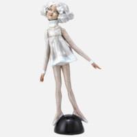 XQ 稀奇 向京 签名限量版雕塑摆件《致青春-我能飞》43×20×12cm 玻璃钢着色 2014年 限量999件