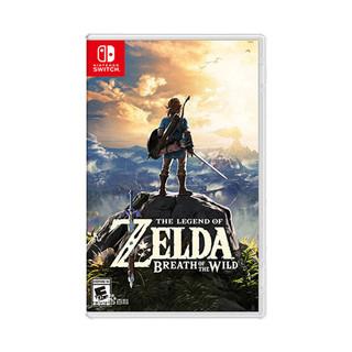 Nintendo 任天堂 Switch NS游戏 塞尔达传说 荒野之息 中文 全新