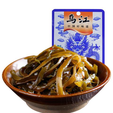 海带丝即食70g17袋 乌江涪陵榨菜微辣小菜凉拌菜下饭菜咸菜批发