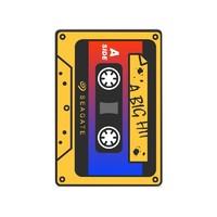SEAGATE 希捷 童年小歌单 移动硬盘 1TB