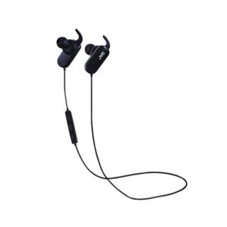 JVC 杰伟世 入耳式颈挂式挂耳式蓝牙耳机 黑色