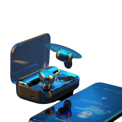 MUSICSOOTH 牧士 M8 真无线蓝牙耳机智能触控迷你隐形运动双耳入耳式苹果华为小米通用手机耳机