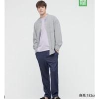 UNIQLO 优衣库 434930 情侣针织棉质休闲九分裤