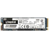 Kingston 金士顿 KC2000 NVMe M.2 固态硬盘 250GB (PCI-E3.0)