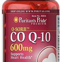 Puritans Pride 普丽普莱 Q-Sorb CoQ10 软胶囊,600mg,60粒,快速释放