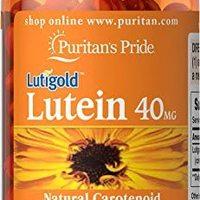 Puritans Pride 普丽普莱 叶黄素与玉米黄质软胶囊,40毫克,120粒