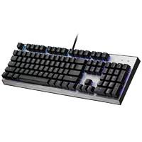 PLUS会员:COOLER MASTER 酷冷至尊 CK351防水机械键盘 红轴  RGB背光 机械光轴 108键
