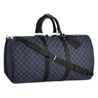 LOUIS VUITTON 路易威登 KEEPALL BANDOULIÈRE系列 旅行袋 N41356 蓝色 50