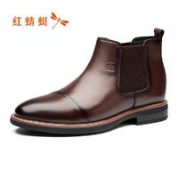 RED DRAGONFLY 红蜻蜓 WTA676411 男士休闲皮鞋