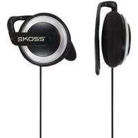 KOSS 高斯 KSC21 压耳式挂耳式有线耳机 黑色 3.5mm