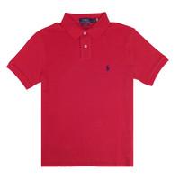 RALPH LAUREN/拉尔夫·劳伦 时尚百搭短袖男式Polo衫710666998 红 S