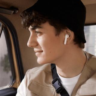 OPPO Enco Play 半入耳式真无线降噪蓝牙耳机 白色