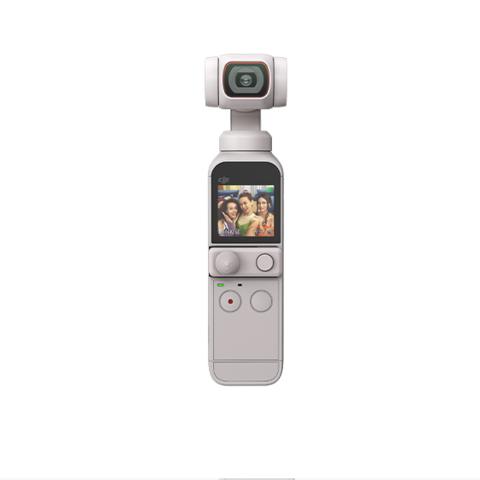 DJI 大疆 Pocket 2 灵眸口袋云台相机 小巧便携 4K高清 云台增稳 美颜 vlog摄像机 手持云台