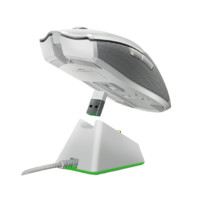 RAZER 雷蛇 毒蝰终极版 2.4G无线鼠标 20000DPI RGB 水银白色