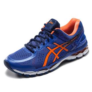 ASICS 亚瑟士 Gel-Kayano 22 男子跑鞋 T547N-5093 蓝色/橘色 41.5