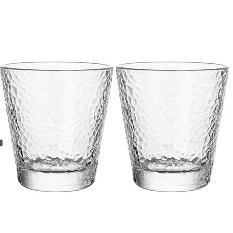 DANYU 丹语 无铅玻璃杯子ins风透明金边锤纹冷水壶套装家用果汁奶茶杯子加厚
