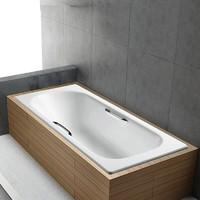 KOHLER 科勒 K-941T-GR-0 嵌入式铸铁浴缸 1.5m