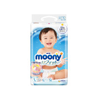 moony 畅透系列 纸尿裤 L54片