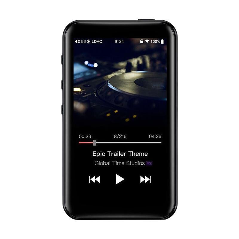 FiiO 飞傲 M6 双向蓝牙解码耳放音频播放器 2GB 黑色