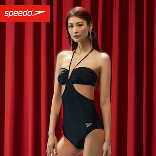 SPEEDO 速比涛 全新咏叹调系列 女子挂脖连体泳衣