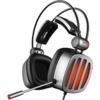 XIBERIA 西伯利亚 S21 耳罩式头戴式有线耳机 铁银灰 USB口