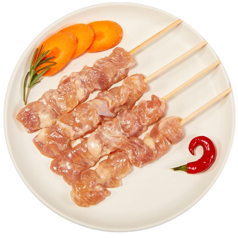 新美泰 鸡腿肉串 原味 400g