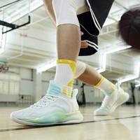 ANTA 安踏 轻骑兵6代 安踏篮球鞋男夏季新款汤普森kt低帮实战专业透气运动鞋
