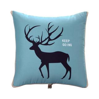 Nan ji ren 南极人 抱枕 被子两用靠枕 床上靠垫汽车办公室枕芯沙发盖毯被