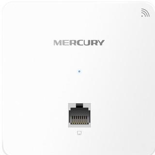 MERCURY 水星网络 MIAP300P 300M企业级无线面板AP WiFi-4 白色