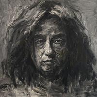 中国嘉德 严培明 自画像 200×200cm 布面油画 2011