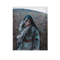 中国嘉德 艾轩 沉寂的莽原 100×80cm 布面油画 1993