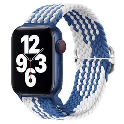 Damon Light 适用Apple Watch系列 尼龙编织滑扣表带