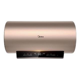 Midea 美的 初见套系60升电热水器3000W速热九倍大水量 一级节能出水断电智能家电F6030-A6X(HEY) 以旧换新