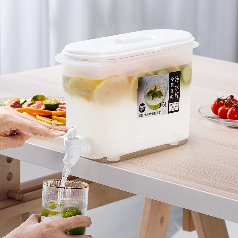 SMOOKY 史莫卡 冰箱日式冷水壶 冰水器 3.6L