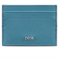 Dior 迪奥 男士牛皮卡包 2DSCH100YVI_H24B 蓝色