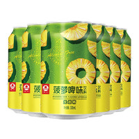 PEARL RIVER 珠江啤酒 饮料 菠萝啤味 330ml*6听