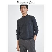 Massimo Dutti 00970401801 男士半高领针织衫
