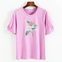 JEANSWEST 真维斯 JW-02-273TB529 女装圆领休闲T恤
