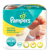 Pampers 帮宝适 Micro纸尿裤